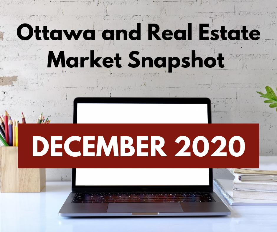 Ottawa and Real Estate Market Snapshot December 2020 3