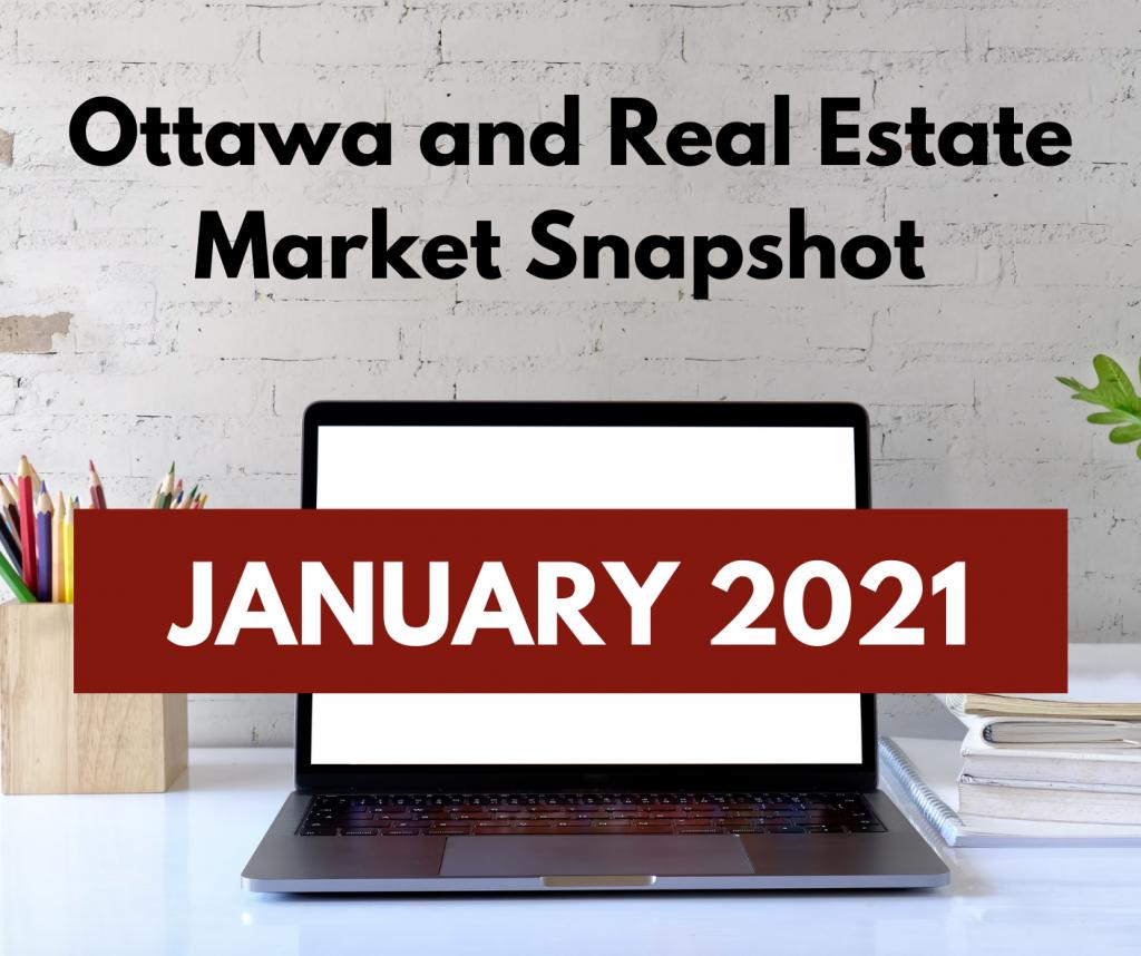 Ottawa and Real Estate Market Snapshot January 2021 2